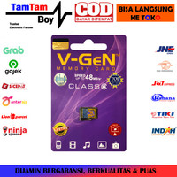 MicroSD V-Gen 32GB SDHC Card Class 6 Speed Up to 48MB/s Non Adapter