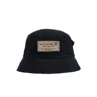 Jackhammer x AGA Axis Bucket Hat Black Topi Pria