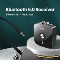 Ugreen Bluetooth Receiver 5.0 Aux 3.5mm 2Rca Wireless Adapter ORIGINAL