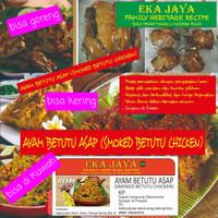 Ayam Betutu Asap (Smoked Betutu Chicken)