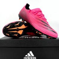 Sepatu Bola Adidas X Ghosted 3 FG Shock Pink FW6945 Original BNIB