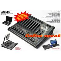 mixer Ashley LM 8 LM8 efek 99dsp 8 channel USB dan Bluetooth