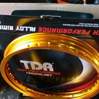 Velg TDR W Shape 215 ring 17 gold