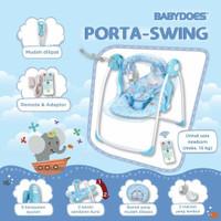 Babydoes Porta Swing Bouncer Bayi Electrik | Tempat Tidur Kursi Bayi