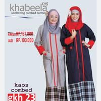 Gamis Wanita Khabeela model GKH 23