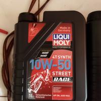liqui moly street race 10w 50 synthetic