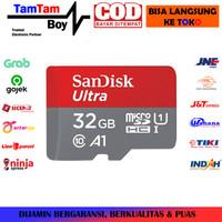 MicroSD Sandisk Ultra 32GB SDXC UHS-I Card Class 10 A1 Speed 100MB/s