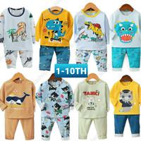 Baju tidur / setelan / piyama import Anak 6m-10th Brand Babyhula -Boy