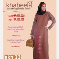Gamis Wanita Khabeela model GKH 13