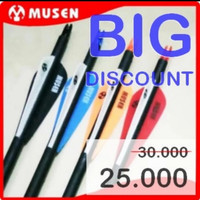 Arrow/Anak panah/Carbon Import/Musen MSTJ 7,8mm spin 500