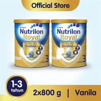 Paket 2 - Nutrilon Royal 3 Susu Pertumbuhan 1-3 Thn Vanila 800gr