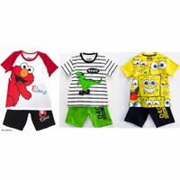 Setelan kaos baju anak laki laki size 1 2 3 4 5 6 7 8 9 10 tahun #3271