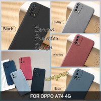 case Oppo A74 4G softcase anti slip superthin silicon cover A74 4G