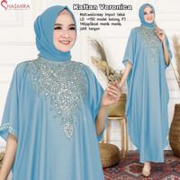 Baju Gamis Dress Wanita Cewek Perempuan Muslim Abaya Kaftan Veronica