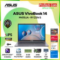 ASUS VIVOBOOK 14 M415UA RYZEN 5 5500U 8GB 512GB SSD 14 FHD OHS W10