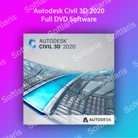 Autodesk Civil 3D 2020 PC Windows Full DVD Software