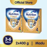 Paket 2 - Nutrilon Royal 4 Susu Pertumbuhan 3-6 Thn Madu 400gr