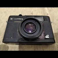 kamera analog film yashica electro 35 hitam antik jadul lawas vintage
