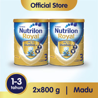 Paket 2 - Nutrilon Royal 3 Susu Pertumbuhan 1-3 Thn Madu 800gr
