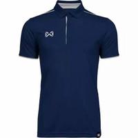Official Kaos Polo Warrix Blue WA 3326 Polo Shirt Original BNWT
