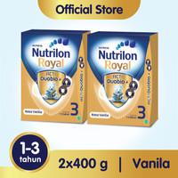 Paket 2 - Nutrilon Royal 3 Susu Pertumbuhan 1-3 Thn Vanila 400gr