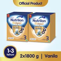 Paket 2 - Nutrilon Royal 3 Susu Pertumbuhan 1-3 Thn Vanila 1800gr