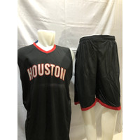 Baju Jersey Basket NBA Swingman Houston/setelan basket dewasa HOUSTON