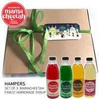 Hampers Set of 4 Homemade Finest Syrup Mamacheetah 600ml