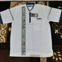 Baju Koko Putih Remaja / Anak Tanggung, Lengan Pendek 02 by Syahdika.
