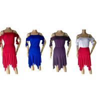 Atasan Baju Senam Line Dance Latin Dance Salsa Rumba Belly Dance