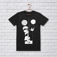 Vertice - T-Shirt Distro/Fashion Atasan/ Premium/ NARUTO SASUKE C-122