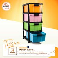 Hommy Kabinet Susun Trisna lemari plastik