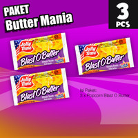 Paket Butter Mania (3BOB) - Jolly Time Mircowave Popcorn