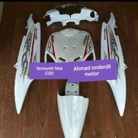 Cover body halus FULL set MIO sporty + STRIPING