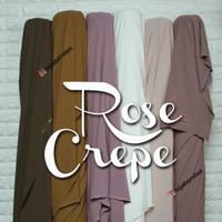 HijabersTex 1/2 Meter Bahan Kain ROSE CREPE Premium