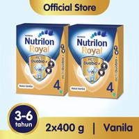 Paket 2 - Nutrilon Royal 4 Susu Pertumbuhan 3-6 Thn Vanila 400gr