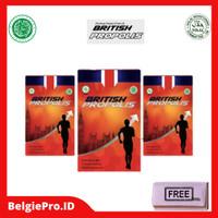 BRITISH PROPOLIS PAKET 3 BOTOL FAMILLY/PAKET 3 BOTOL RESELLER ORIGINAL