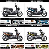 Bisa COD Stiker Striping Decal Yamaha Nouvo Z Variasi AR-05 Ready