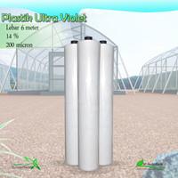 Plastik UV Vatan Lebar 6 Meter 200 Micron 14%