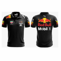 Polo shirt/ Kaos kerah/ Kaos Polo/ Baju Seragam Red Bull F1