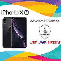 NEW APPLE IPHONE XR 128GB ORIGINAL FU GSM GARANSI 1 TAHUN