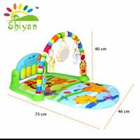Baby Gym Musical set musik bayi playmat matras main piano - SY 9611