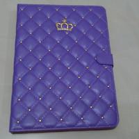 iPad Mini 4 Luxury Crown with Strap Smart Flip Cover / Case (Hard)