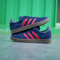 Sepatu Adidas Gazelle color nevy drak sol gum Original - tosca, 40