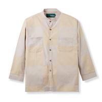 Baju Koko Motif Duha Muslimwear - Alfath Squared Shirt Khaki