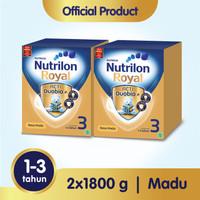 Paket 2 - Nutrilon Royal 3 Susu Pertumbuhan 1-3 Thn Madu 1800gr