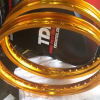 Velg tdr w shape set 140/160 ring 17 gold