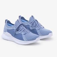 Sepatu Lari Wanita Skechers Gorun Mojo 2.0 Off Topic Blue Original