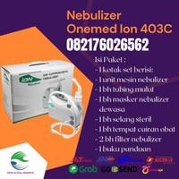 Dijual Nebulizer Onemed Ion 403C Alat Uap Mesin uap Alat inhalasi ori
