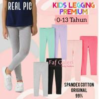 0-12 Thn Legging Anak Polos Cotton- Celana Anak Branded Premium Import
